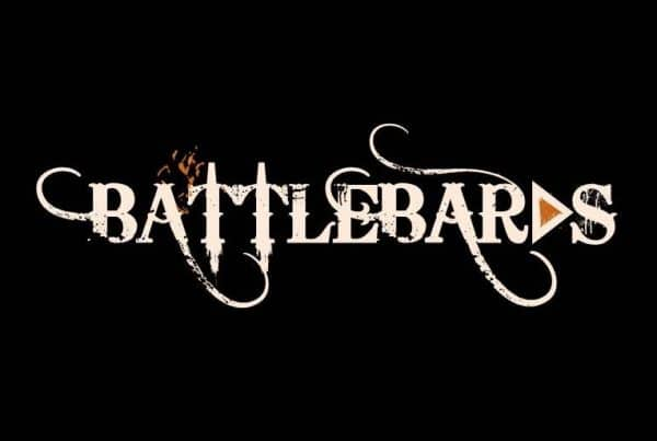 Battlebards - Logo-on-Black